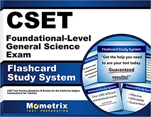 Cset foundational-level general science exam secrets study guide.