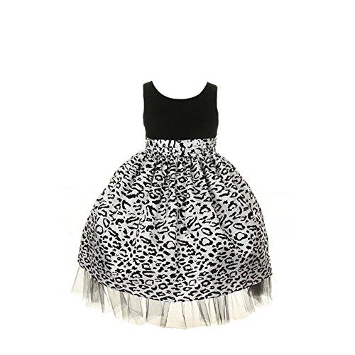 cheetah print dresses for babies - 5