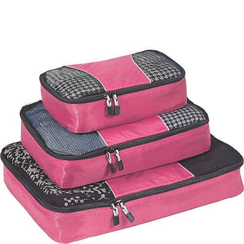 eBags Packing Cubes - 3pc Set (Peony) (Peony Panel)