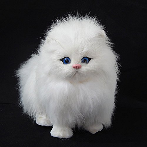 White Cat Soft Toy - 8