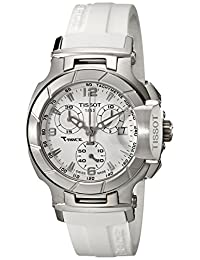 Tissot Women's T048.217.17.017.00 White Dial T Race Watch