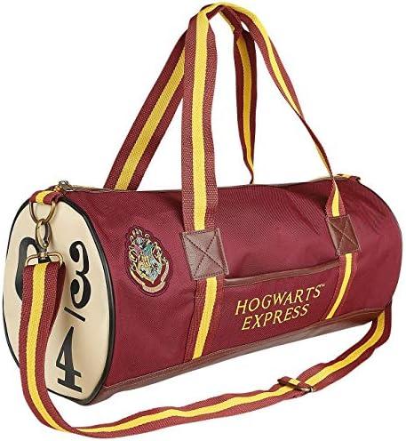 Groovy Harry Potter Hogwarts Express 9 & 3/4 Borsone, Rosso, Medio