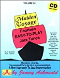[(Maiden Voyage, Volume 54: Fourteen Easy-To-Play Jazz Tunes)] [Author: Jamey Aebersold] published on (April, 2013)