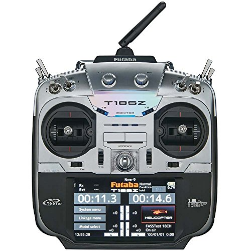 Futaba 18SZH 18-Channel Computerized Radio Control Transmitter with Telemetry & R7008SB Receiver by Futaba