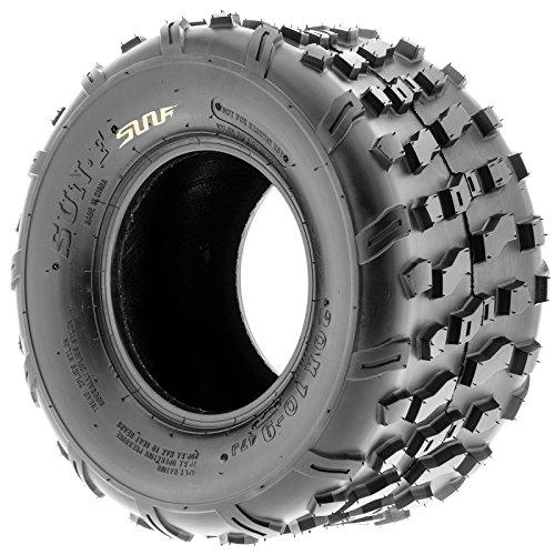 Set of 2 SunF 20x10-9 20x10x9 ATV UTV Knobby Rear Tire 4 Ply A022 by SunF (Image #4)