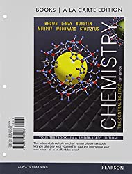Chemistry with Masteringchemistry Access Code: The Central Science (Books a la Carte)