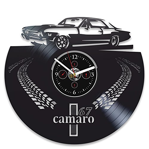 - RainbowClocks Chevrolet Camaro Vinyl Wall Clock 1967 Camaro Record Clock Camaro 67 Clock Gift For Man Camaro Birthday Gift Camaro Vinyl Wall Clock Camaro Gift Wall Clock Vintage