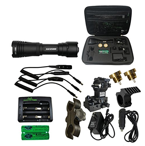Hunting Package - Elusive Wildlife Kill Light XLR 250HD Zoom Focus Hunting Light Package - PRO