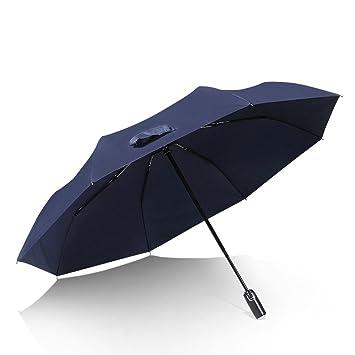 f43b96079eaf Amazon.com: Umbrella Windproof Umbrella Men's Reinforcement ...