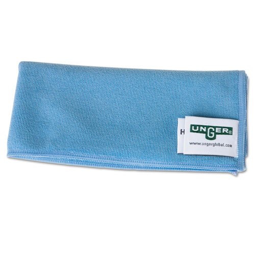 UNGMF40B - Smartcolor Microwipes, Microfiber, 16 X 15, Blue by Unger