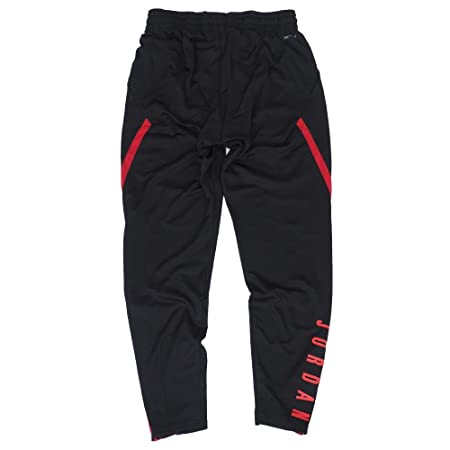 25ce265ee297 Amazon.com  Nike Mens Jordan 23 Alpha Dry-Fit Athletic Fit Training Pants  Black Gym Red 889711-011-Size Large  Sports   Outdoors