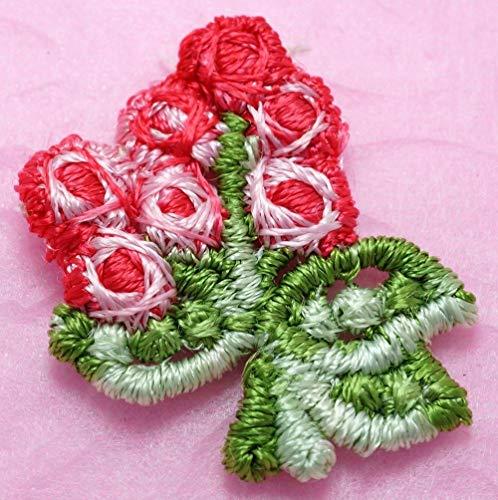 - FidgetFidget 50 Red Venise Lace Tribud ~ Victorian Trim/Dolls/Craft R025