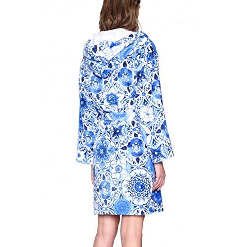 Desigual Accappatoio Donna Think in Blue Blu S