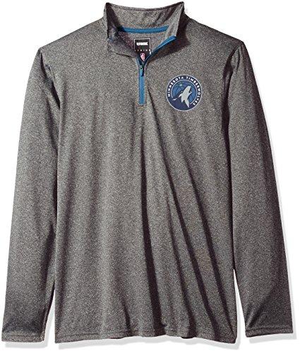 NBA Minnesota Timberwolves Men's Quarter Zip Pullover Shirt