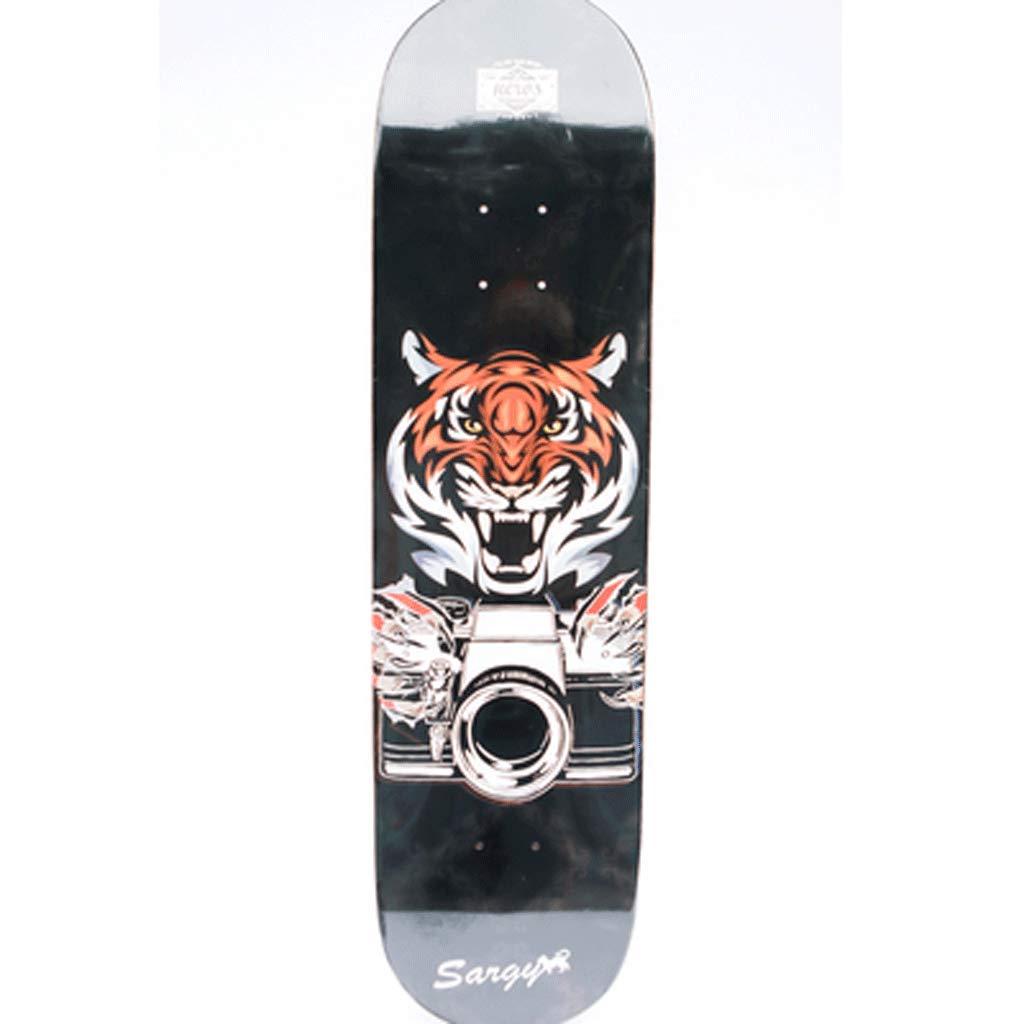 【新品、本物、当店在庫だから安心】 全ボードセットアダルトプロフェッショナル4輪両面斜めスケートボードショートボード (色 : : Tiger) B07L2W911R Tiger) Tiger Tiger, Devine:2eb08597 --- a0267596.xsph.ru