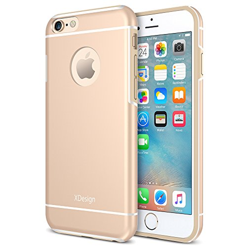 iPhone 6s Case, XDesign Inception Case [Apple Aluminum] TPU+PC [Triple Injected] Frame - Durable Stylish...