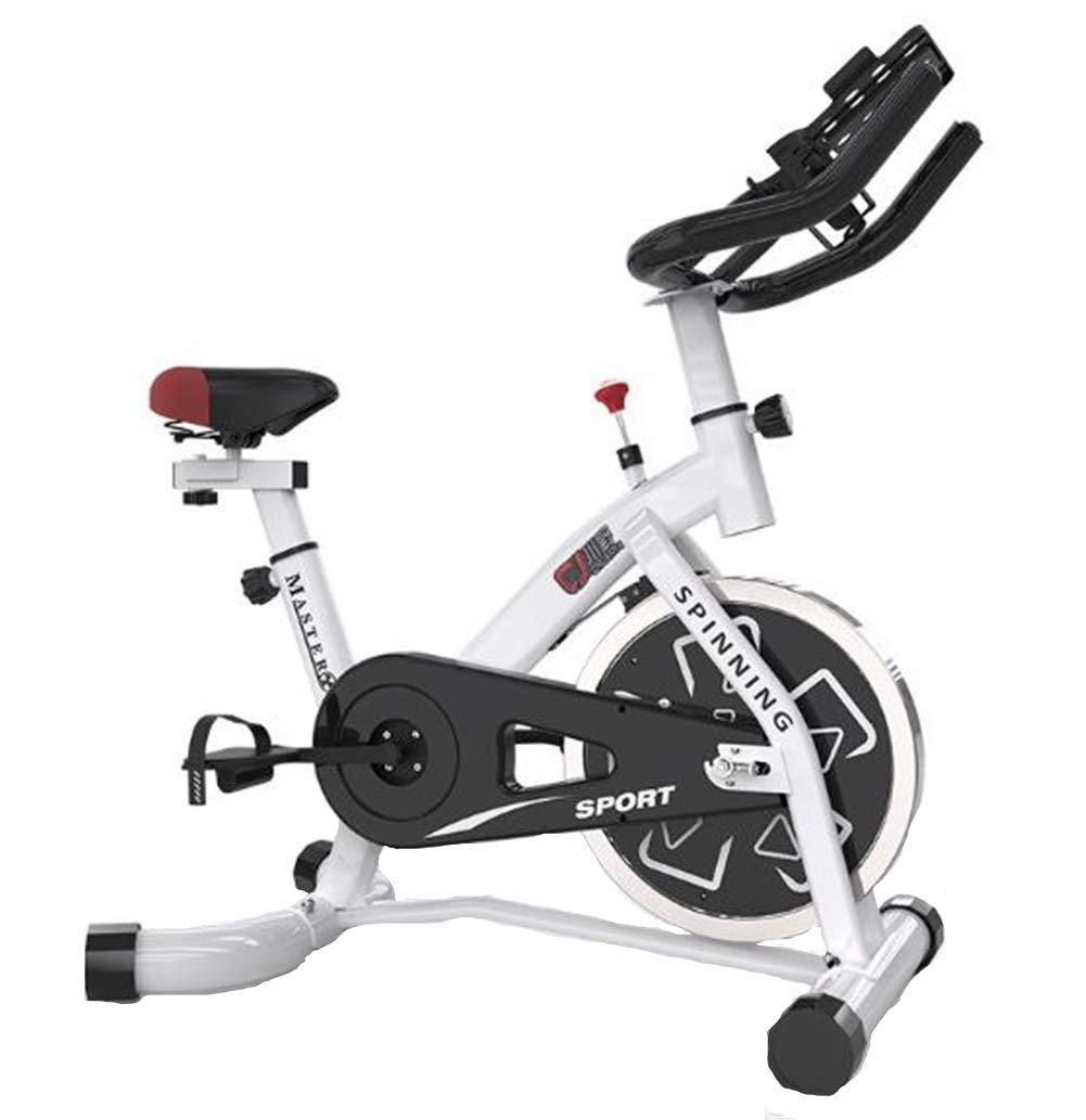 Lcyy-Bike Fahrradtrainer Übung Fahrrad Manuelle Verstellbare Beständigkeit Fitness Cardio-Workout Mit Tablet-Halter Verstellbare Sitzhöhe Hauswirtschaftliche Turnhalle Unisex