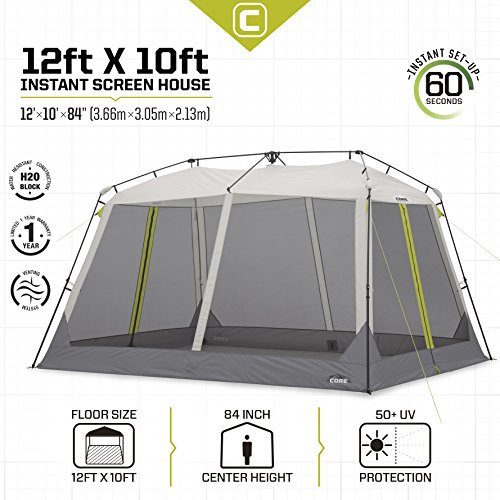 Core Instant Screen House Canopy 12 X 10 Buy Online