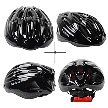 Radar Screen Adult Bike Helmet for Men Women Bicycle Helmets with Removable Visor Adjustable Dial Removable Liner
