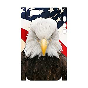 Cool Painting Bald Eagle Brand New 3D Cover Case for Iphone 5,5S,diy case cover case579558 by icecream design