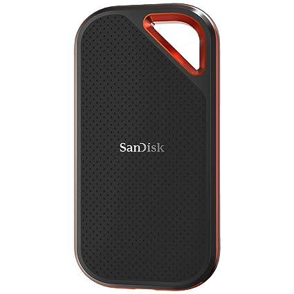 SanDisk Extreme Pro - Portable SSD de 1 TB y hasta 1050 MB/s con USB-C, de diseño robusto y resistente al agua