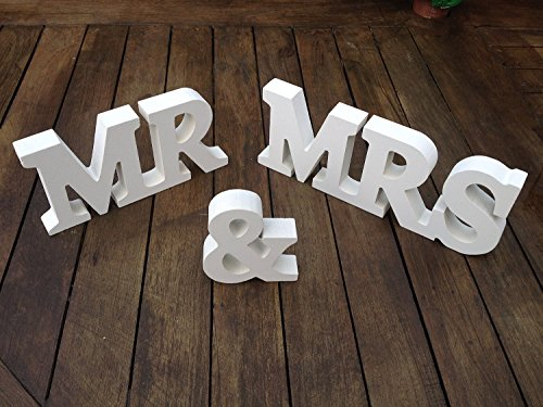Wooden Letters Wedding Decoration Present