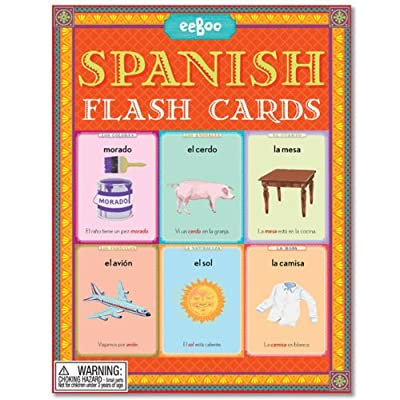 Spanish Flash Cards: Toys & Games