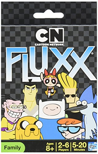 Cartoon Network Fluxx Card Game