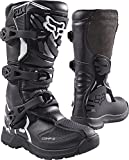 Fox Racing Comp 3 2017 Youth MX/Offroad Boots Black/White 6 USA