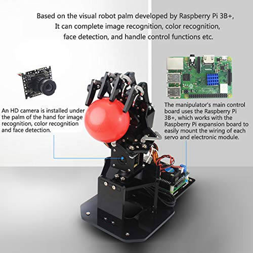 Manipulator Arm Robot Palm Robot Five Finger with Image