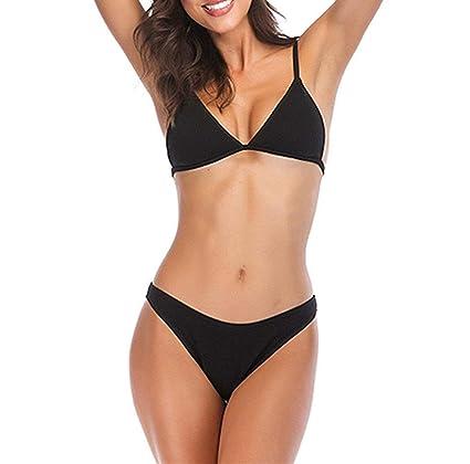 ZHRUI Conjuntos de bikini para mujer, trajes de baño de una pieza, traje de baño competitivo ...