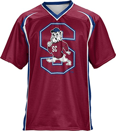 ProSphere South Carolina State University Men's Football Jersey (Wild Horse) FCF41