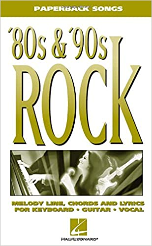 Amazon 80s 90s Rock Paperback Songs 0073999682502 Hal
