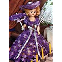 ENGLISH LAVENDER DOLL - A downloadable vintage 1951 crochet pattern. Text-to-Speech enabled. Available for Download to Kindle DX, Kindle for PC, Mac, iPhone, ... handmade, DIY, NorthernLightsVintage)