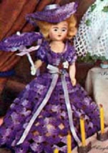 ENGLISH LAVENDER DOLL – A downloadable vintage 1951 crochet pattern. Text-to-Speech enabled. Available for Download to Kindle DX, Kindle for PC, Mac, …