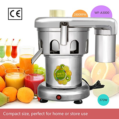 110V 370W Commercial Juice Extractor Stainless Steel Juicer Heavy Duty WF-A3000 Juicing both Fruit and Vegetable by Weifeng