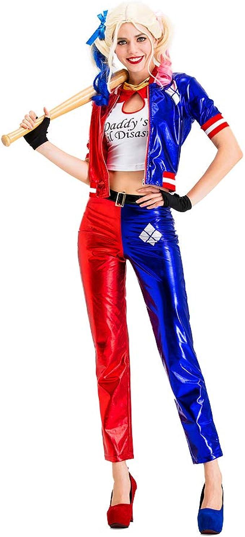 Harley Quinn Disfraz de Cosplay Suicide Squad Halloween Disfraz ...