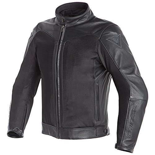 Dainese Corbin D-Dry Leather Jacket (58) (Black/Black) for sale  Delivered anywhere in Canada