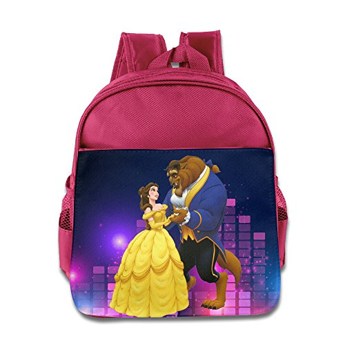 MEGGE Beauty And The Beast Beautiful Backpack Pink