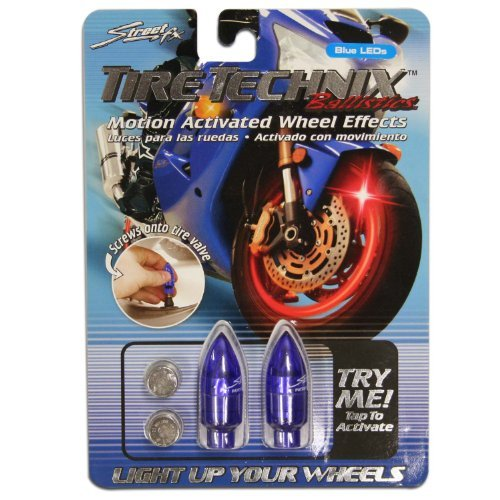 Amazon.com: Street fx 1042190 tire technix ballistic (blue) (1042190): Automotive