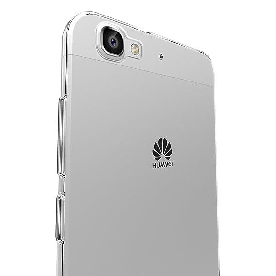 AICEK Funda Huawei P8 Lite Smart, Huawei P8 Lite Smart Funda Transparente Gel Silicona Huawei P8 Lite Smart Premium Carcasa para P8 Lite Smart 5.0