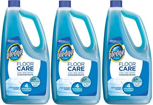Pledge Floor Care Multi Surface Concentrate Glade Rainshower Scent 32 Ounces - Pack of 3 ()