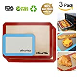 silicon baking mat Alimat Plus cookie sheet non stick dishwasher safe reusable