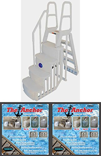 200100t above ground pool ladder