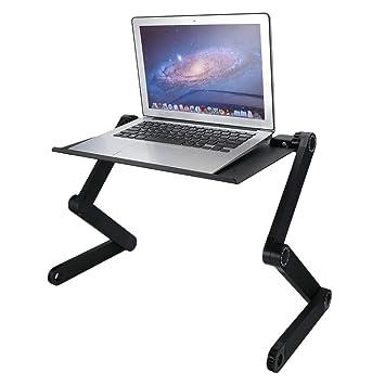 ToGames-ES Escritorio Perezoso Ajustable de la computadora portátil del Ordenador de la aleación de Aluminio Plegable de 360 Grados: Amazon.es: Hogar