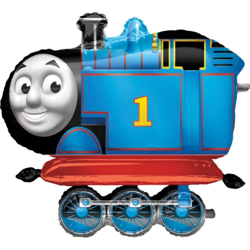 Amscan 36-inch/ 91cmThomas and Friends Airwalkers Foil Balloon]()