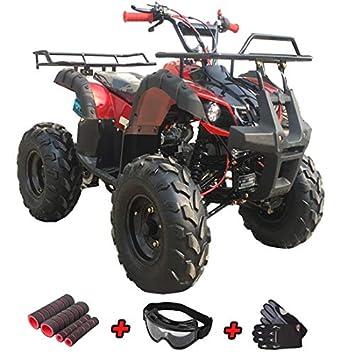 Amazon.com: X-Pro 125 cc ATV 4 ruedas Quad con guantes ...
