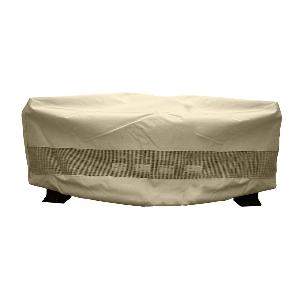 amazoncom hearth u0026 garden sf40249 square fire pit cover large hearth and garden fire pit cover patio lawn u0026 garden