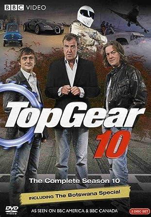 amazon top gear complete season 10 dvd import tvドラマ