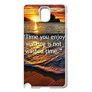 The time you enjoy wasting is not wasted time Discount Personalized Cell Phone Case for Samsung Galaxy Note 3 N9000, The time you enjoy wasting is not wasted time Galaxy Note 3 N9000 Cover